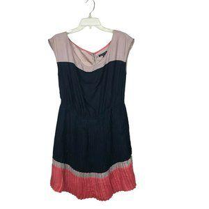 American Eagle Sleeveless Pleated Dress Siz M Pink